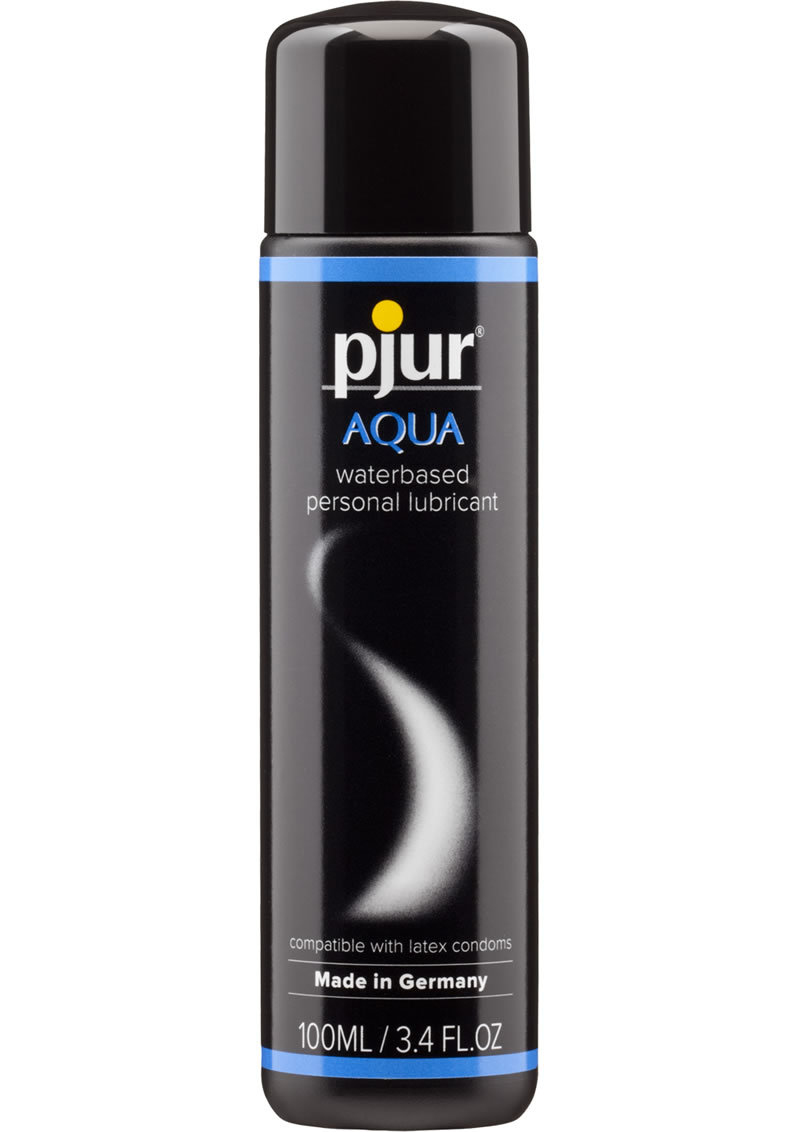 Pjur Aqua Water Based Lubricant 3.4 Ounce