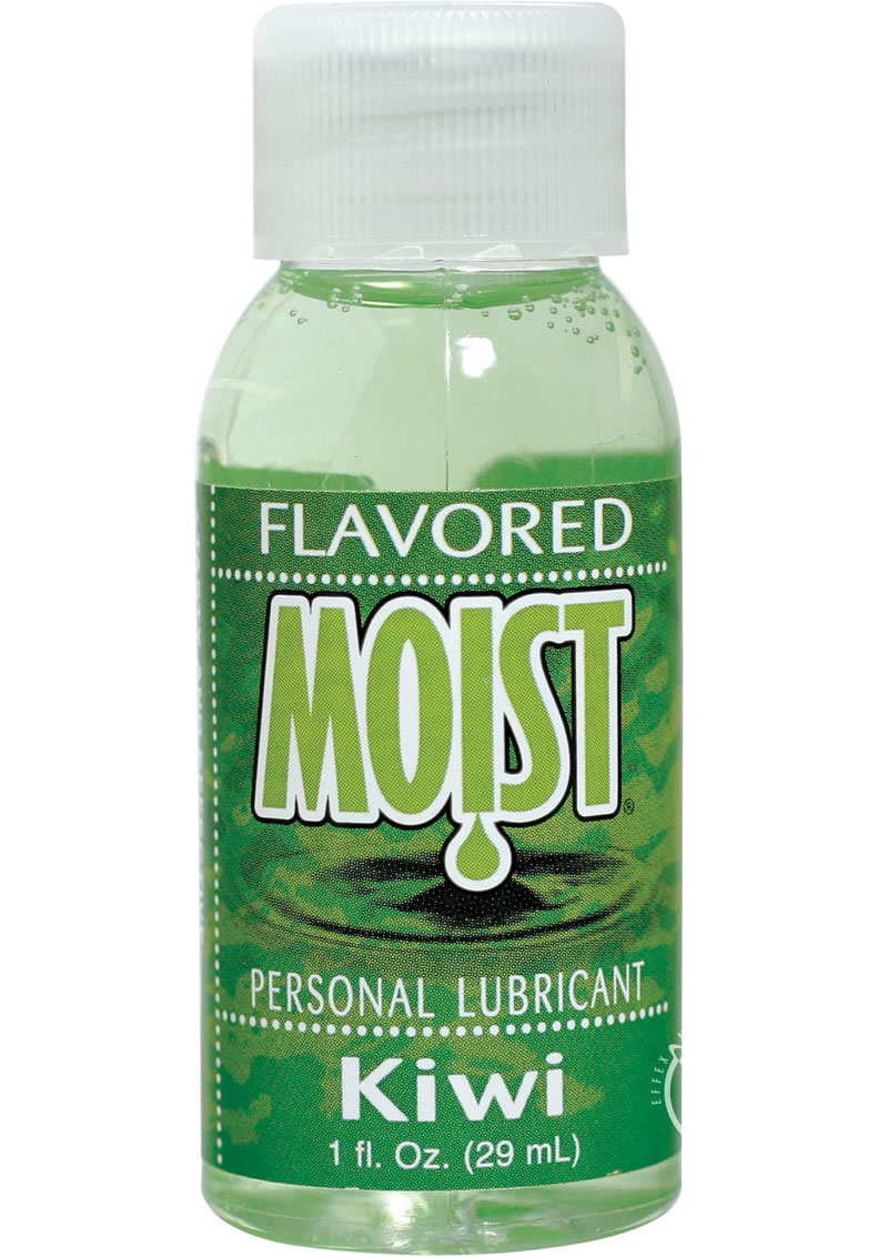 Moist Flavored Personal Water Based Lubricant Kiwi 1 Ounce